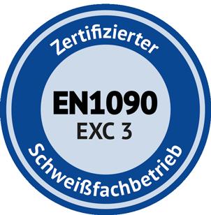 Zertifiziert durch Metallzert - Gempper Stahlbau